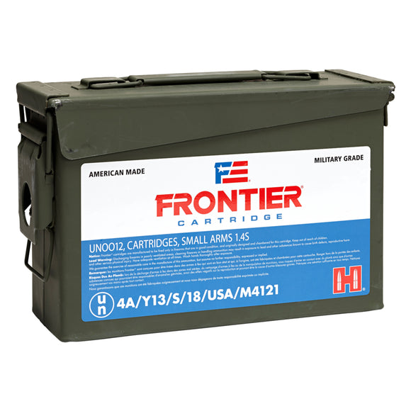 5.56 NATO - Hornady - Rifle, Frontier FMJ (M193), 55GR. 500RD/BX