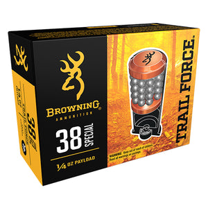 .38 Special Trail Force - Browning Ammo - 130GR. #9 SHOT, 1/4oz, 20BX