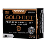 .45 Auto - Speer Ammunition - Gold Dot, Short Barrel Personal Defense 230GR
