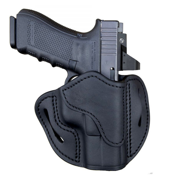 Optic Ready Open Top Multi-Fit Belt Holster-BH2.1 - Stealth Black