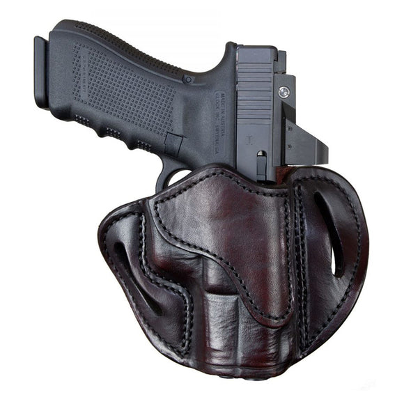 Optic Ready Open Top Multi-Fit Belt Holster-BH2.1 - Signature Brown