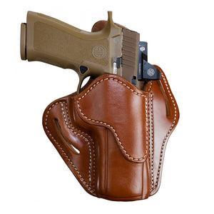 Optic Ready Open Top Multi-Fit Holster-BH2.4 - Classic Brown