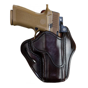 Optic Ready Open Top Multi-Fit Holster-BH2.4 - Signature Brown