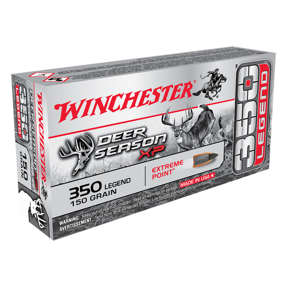 350 Legend, Winchester Ammo, Deer Season XP 150GR. 20RD/BX