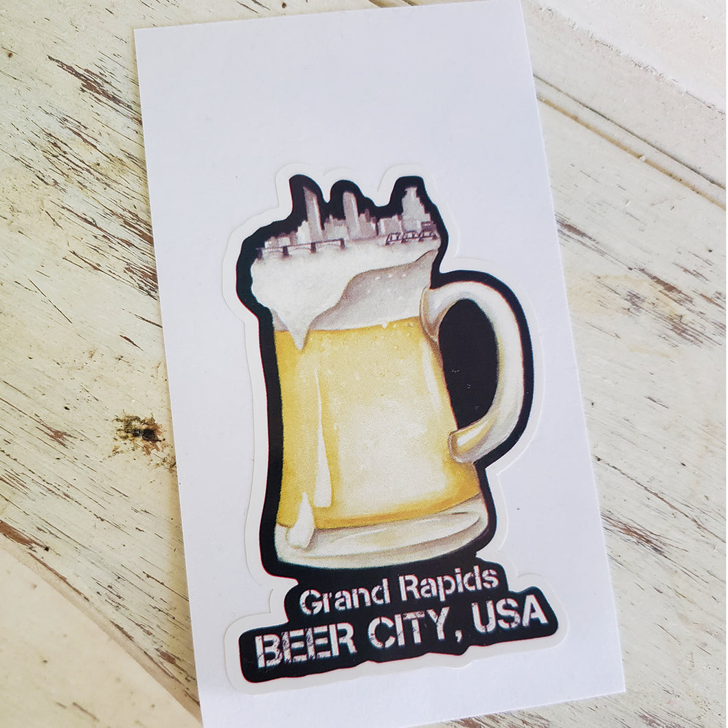 Beer City Decal