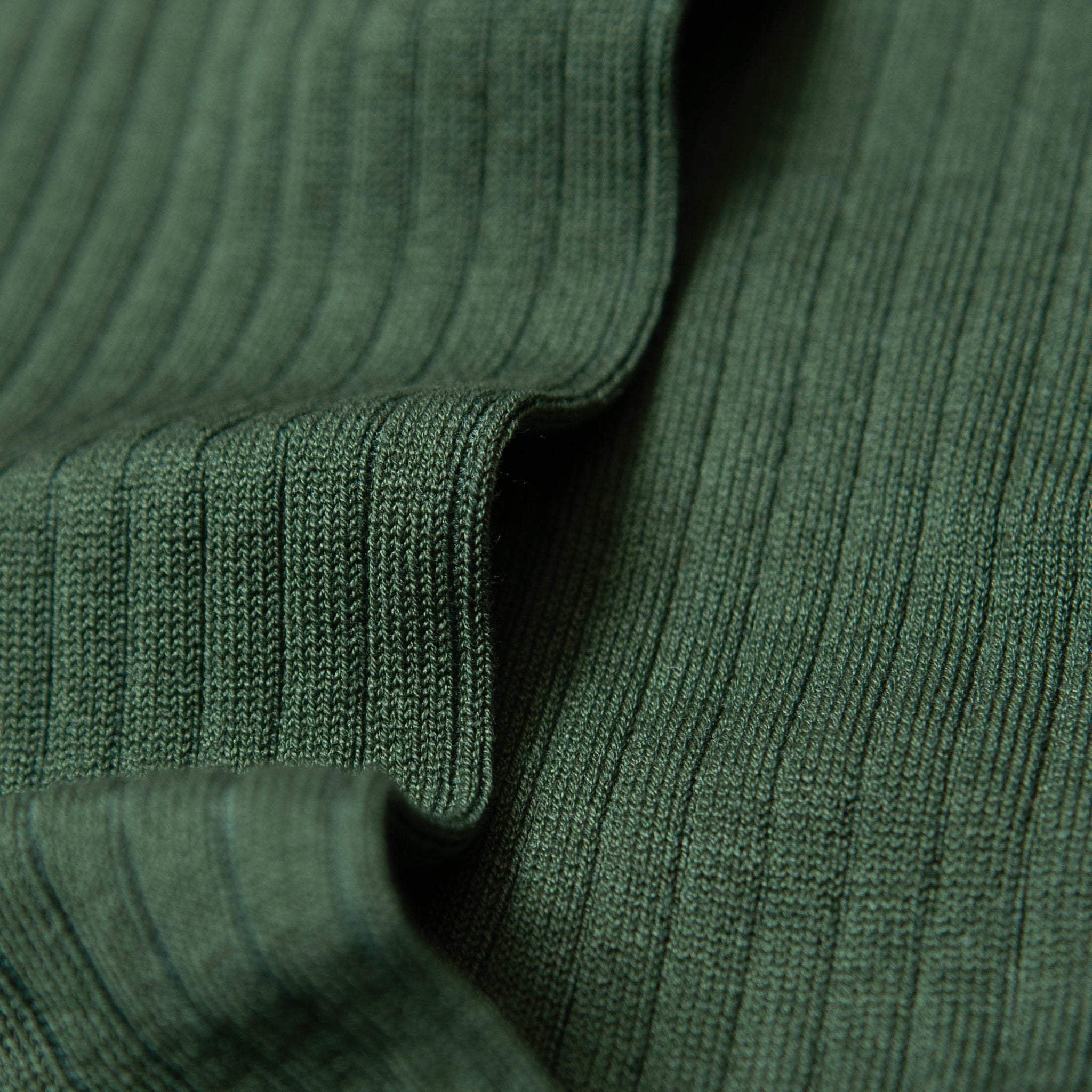 Axel - Cotton Socks - Bottle Green