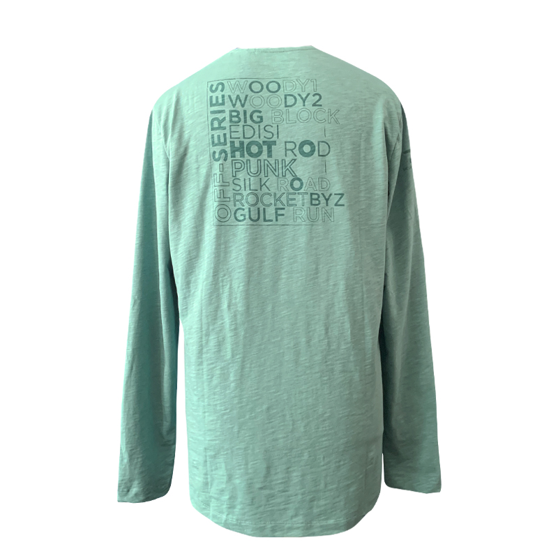 Tee shirt, Long Sleeve Green