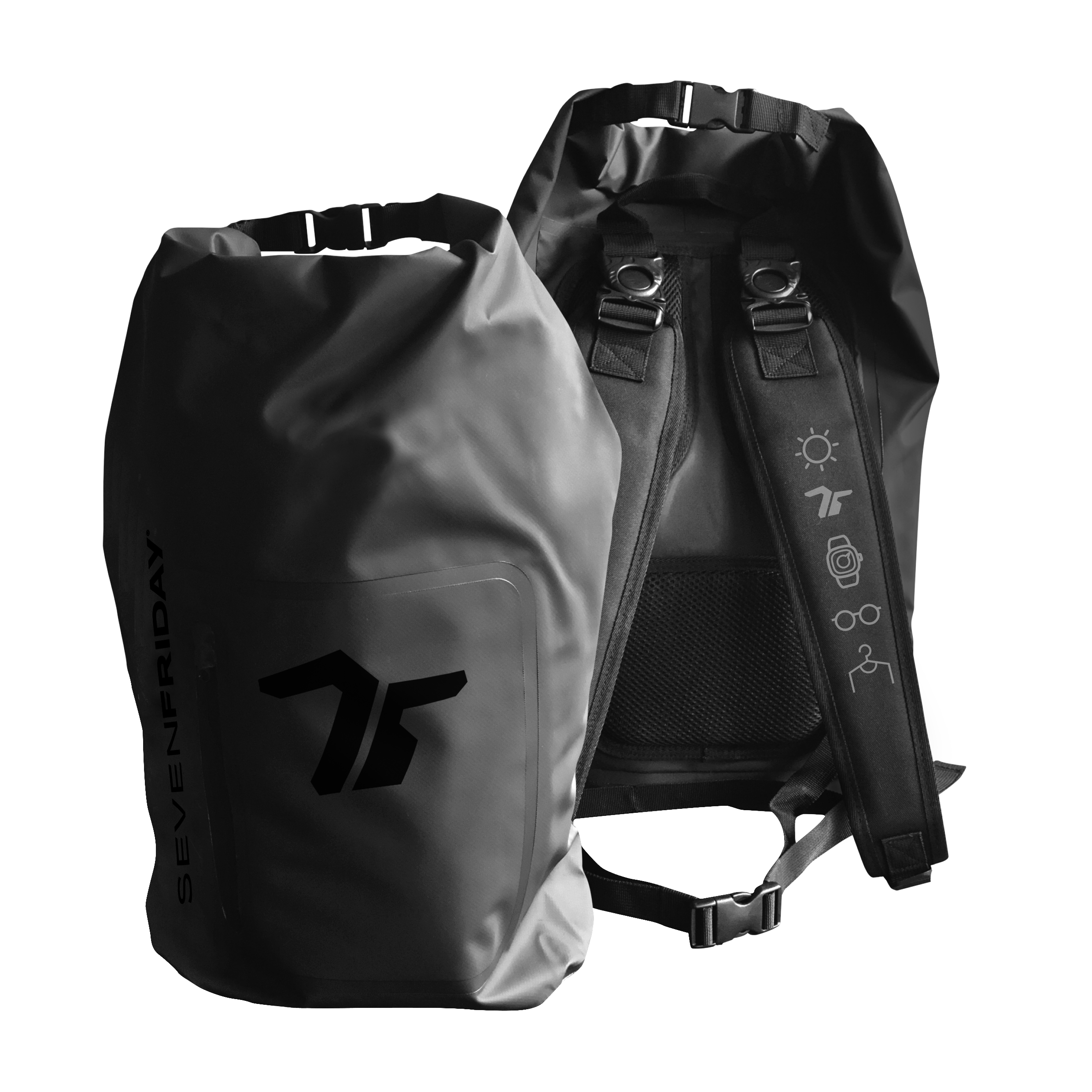 SEVENFRIDAY BACKPACK (Black)