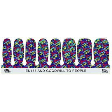 And Good Will To People - Nail Polish Strips