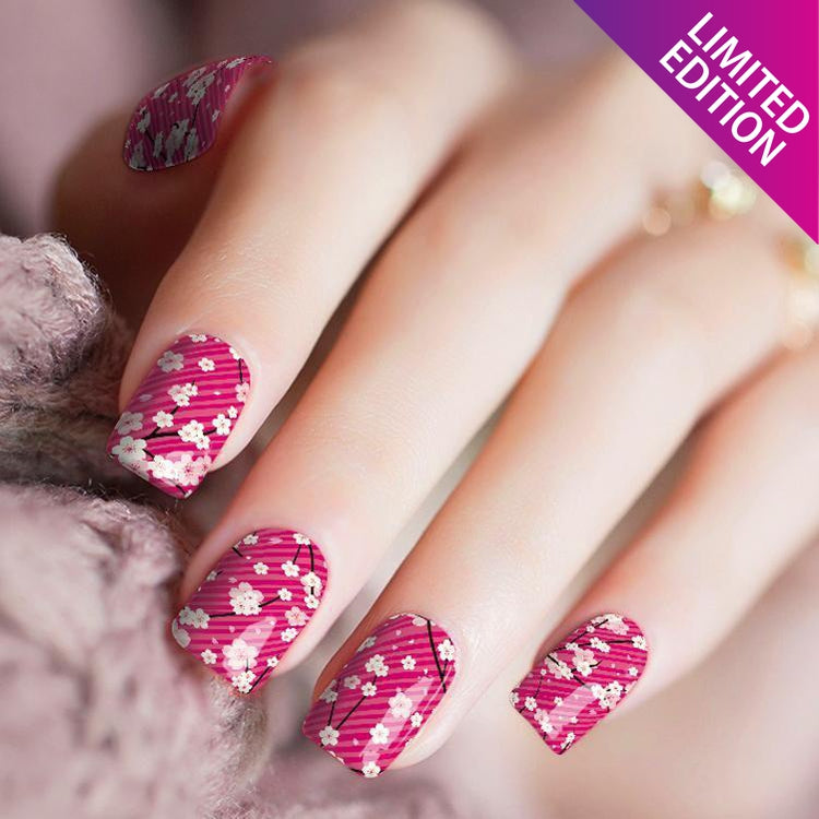 Awesome To The Blossom - Nail Polish Strips