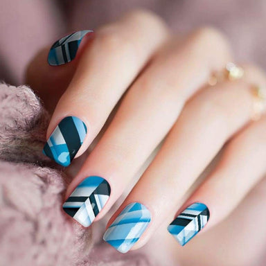Blues On The 45 - Nail Polish Strips