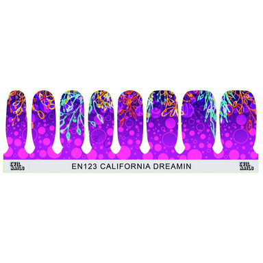 California Dreamin' - Nail Polish Strips
