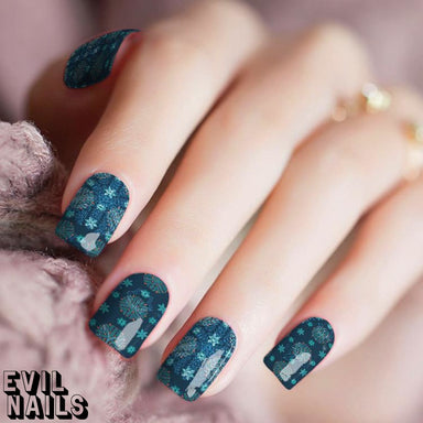 Crystal Blue Persuasion - Nail Polish Strips
