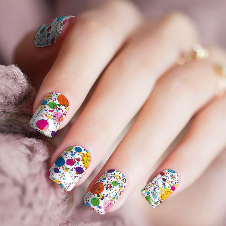 Dippin' Dots - Nail Polish Strips
