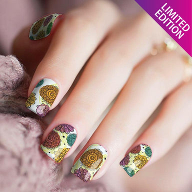 Flower Power - Nail Polish Strips
