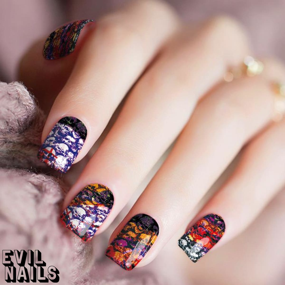 Head Banger - Nail Polish Strips