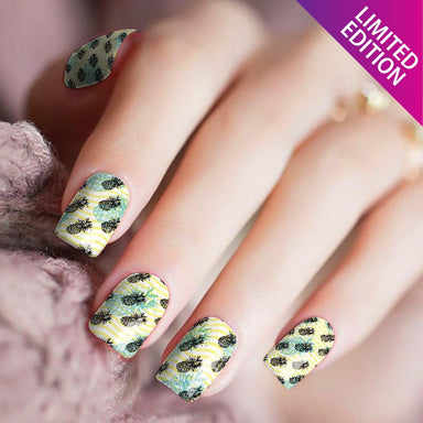 How Ya Like Dem Pineapples - Nail Polish Strips
