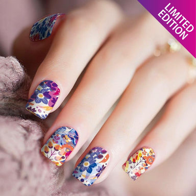I Heart Flowers - Nail Polish Strips