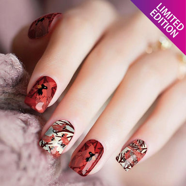 Red Bird Roost - Nail Polish Strips