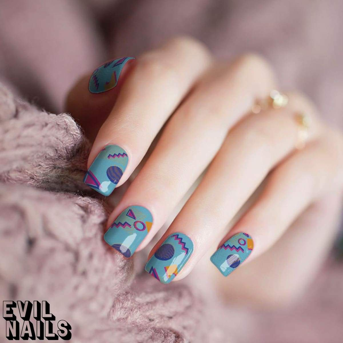 Saved By The Bell - PRE-ORDER - Nail Polish Strips