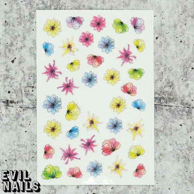 Evil Nails Decals Spring In Your Step
