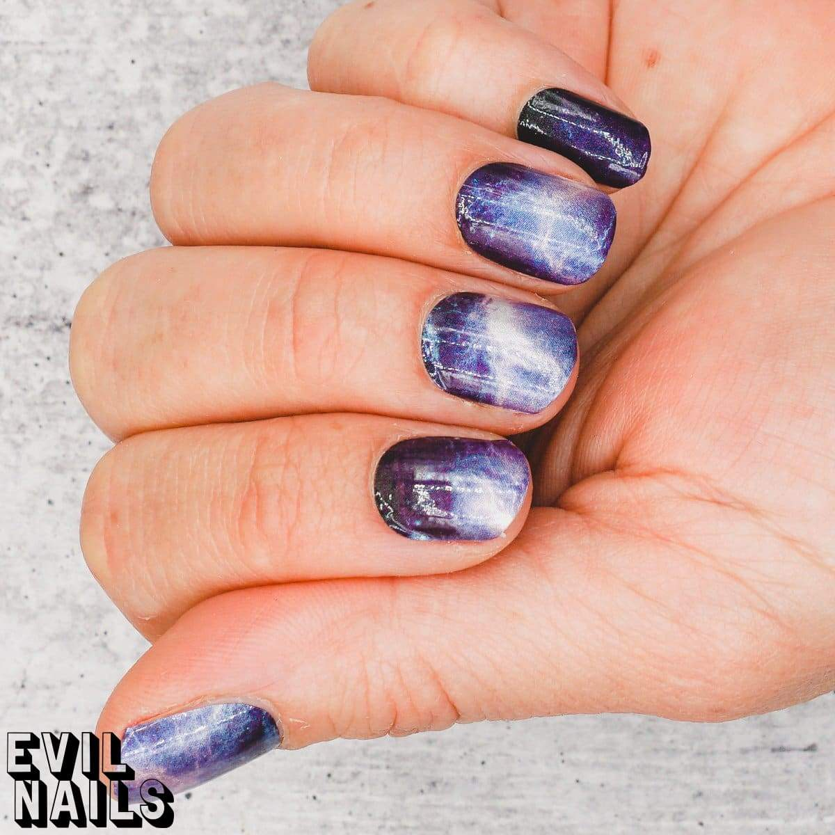 The Thunder Rolls - Nail Polish Strips