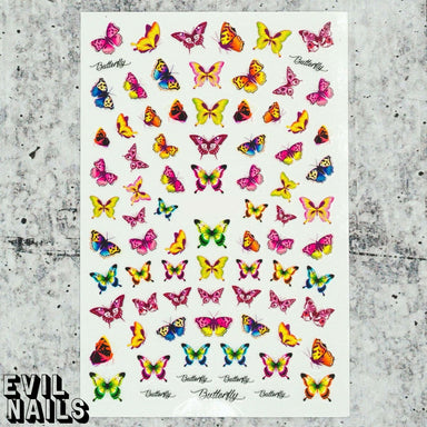 Evil Nails Decals Wild Wings