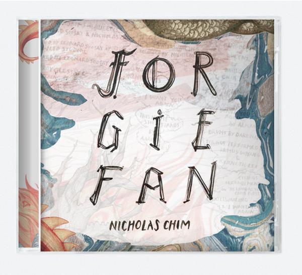 "Nicholas Chim ""Forgiefan"" CD - meaniemart, pins, patches"