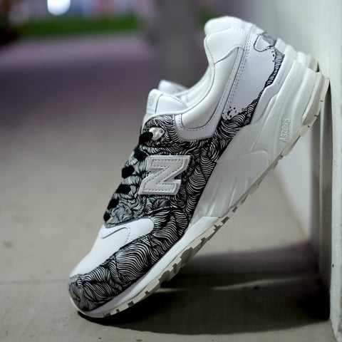 Hypnopompic 2.0 Sole Superior NB999 Black - meaniemart, pins, patches