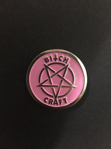 bitchcraft pin - meaniemart, pins, patches