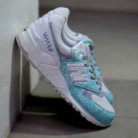 Hypnopompic 2.0 Sole Superior NB999 Tiffany Wolf Grey - meaniemart, pins, patches