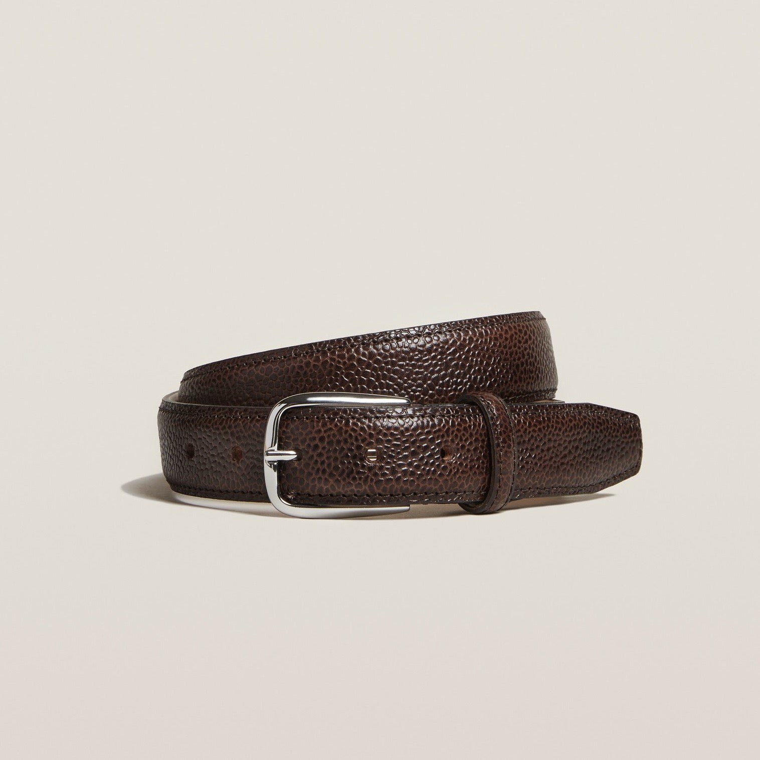 Belt - Dark Brown Country Calf