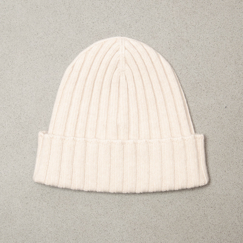 Cream Cashmere Hat