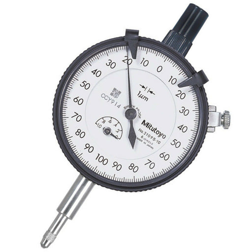 Mitutoyo 2109S-10 : Dial Indicator 1mm 0-100-0 Dial-Lug Back - anaum.sa
