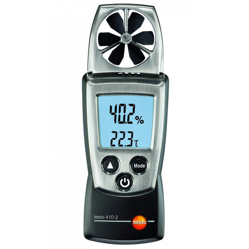 Testo 410-2 : Vane anemometer with Humidity Measurement - anaum.sa