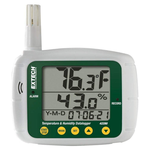 Extech 42280: Temperature and Humidity Datalogger - anaum.sa
