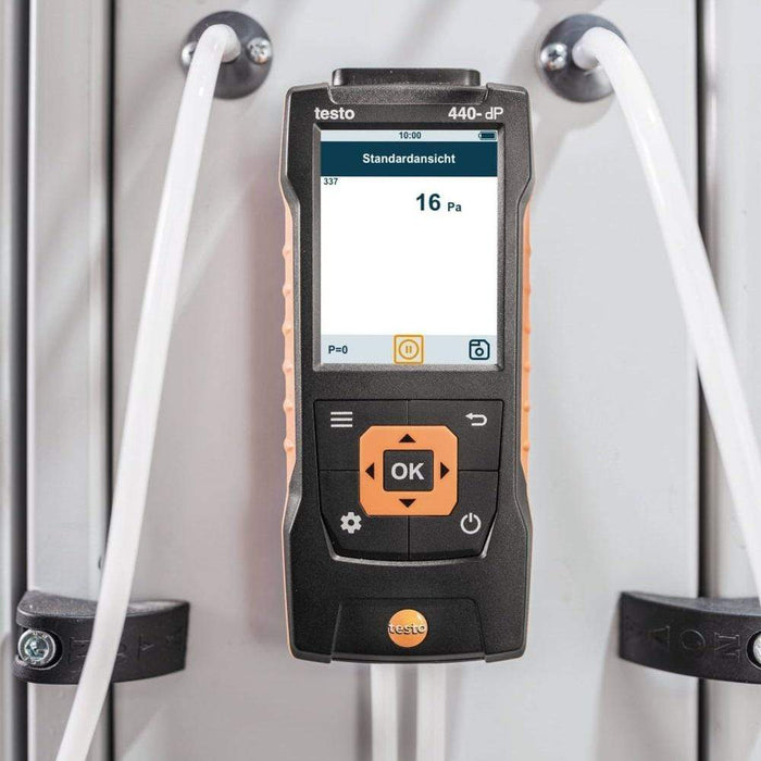 Testo 440 dP : Air Velocity and IAQ Measuring Instrument - anaum.sa