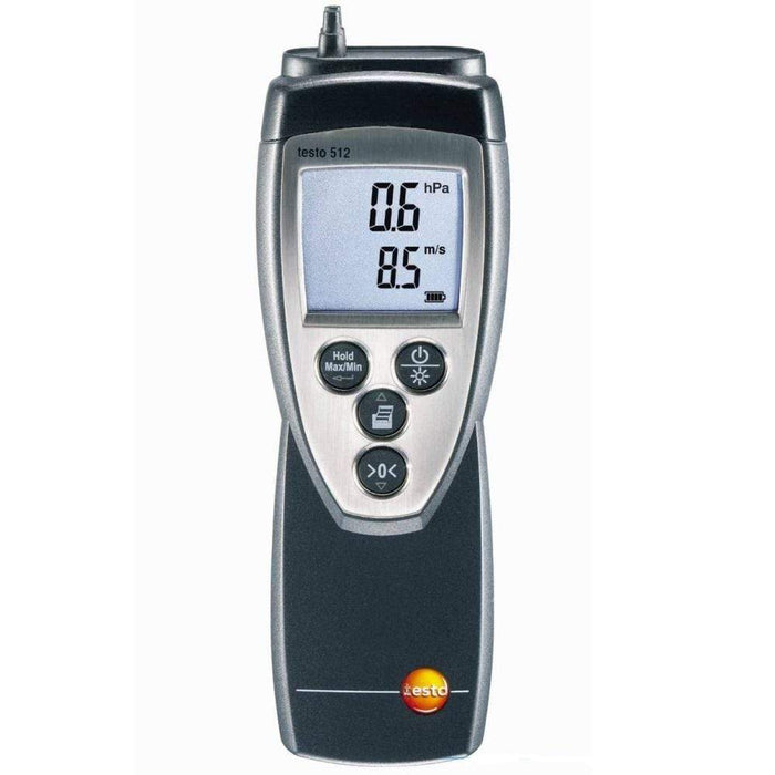 Testo 512 : Differential Pressure Meter - 0 to 20hPa - anaum.sa