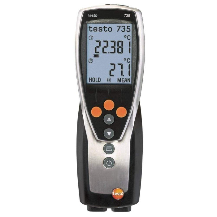 Testo 735-1 : Digital Thermometer ( 3 Channel ) - anaum.sa