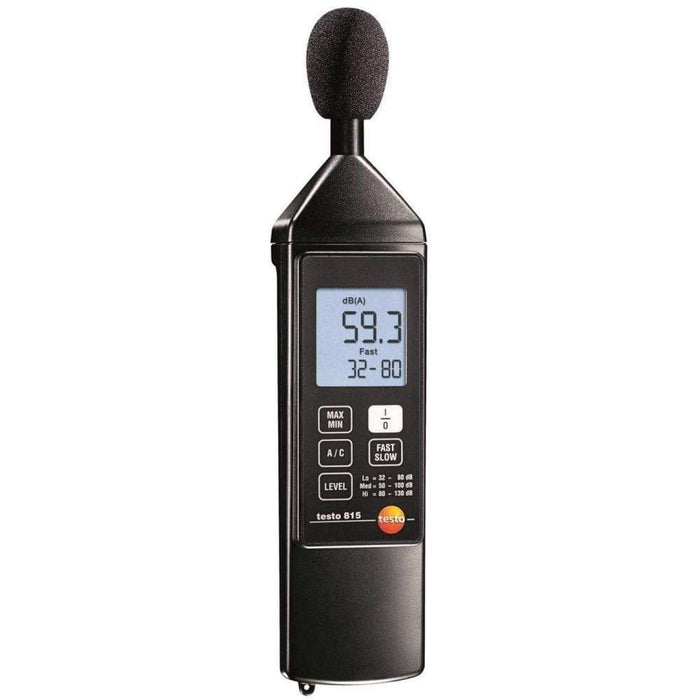 Testo 815 : Sound Level Meter - anaum.sa