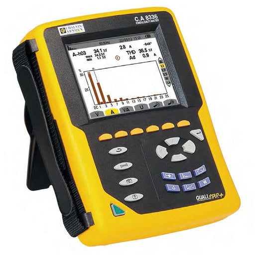Chauvin Arnoux CA8333 : Power Quality Analyser - anaum.sa