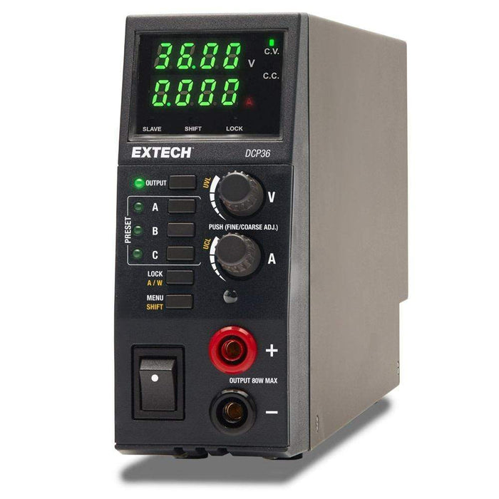 Extech DCP36 : 80W Switching Mode DC Power Supply - anaum.sa