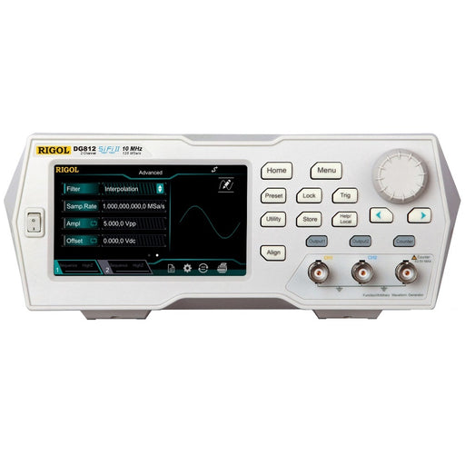 Rigol DG812 : 10MHz Arbitrary Waveform Generator with SiFi II Technology - anaum.sa