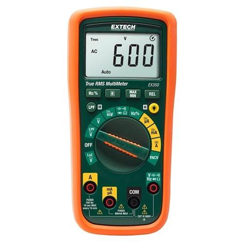 Extech EX350: 11 Function True RMS Multimeter + NCV - anaum.sa
