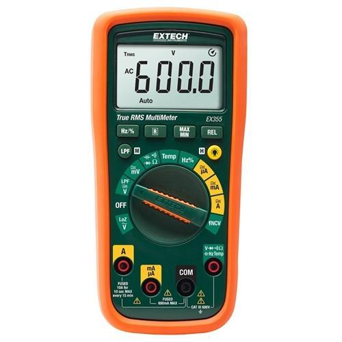 Extech EX355: 11 Function True RMS Multimeter + NCV - anaum.sa