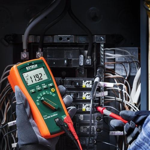 Extech EX360: 8 Function True RMS Multimeter - anaum.sa