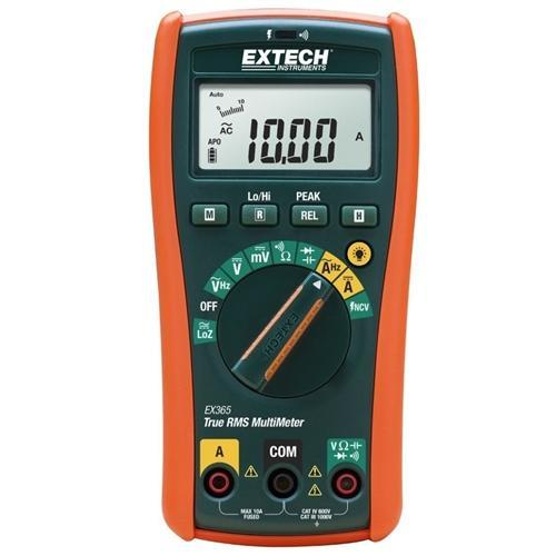 Extech EX365: 10 Function True RMS Multimeter - anaum.sa