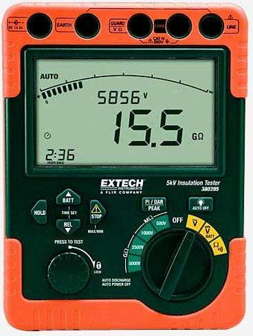 Extech 380396: High Voltage Digital Insulation Tester - anaum.sa