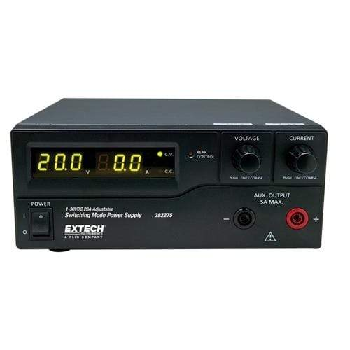 Extech 382275: 600W Switching Mode DC Power Supply (120V) - anaum.sa