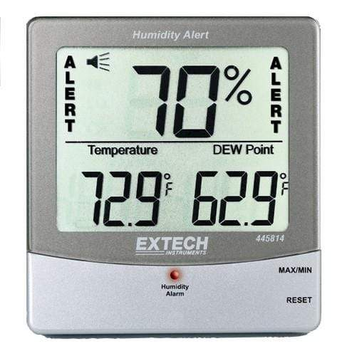 Extech 445814: Hygro-Thermometer Humidity Alert with Dew Point - anaum.sa